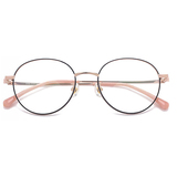 20002 classical metal round optical frames
