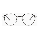 20023 classical metal oval optical frames