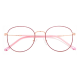 20015 fashion metal round optical frames
