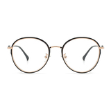 20019 fashion metal oval optical frames