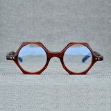 19742 fashion polygon acetate eyewear spring jade