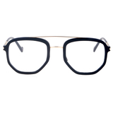 30055 acetate with metal optical frames