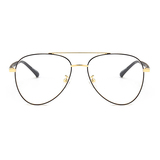20026 fashion metal oval optical frames