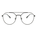 20016 fashion metal polygon optical frames