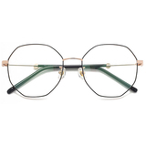 20005 classical metal polygon optical frames
