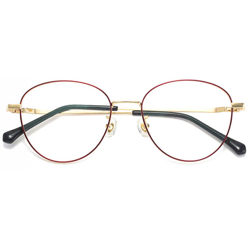 20001 fashion metal round optical frames