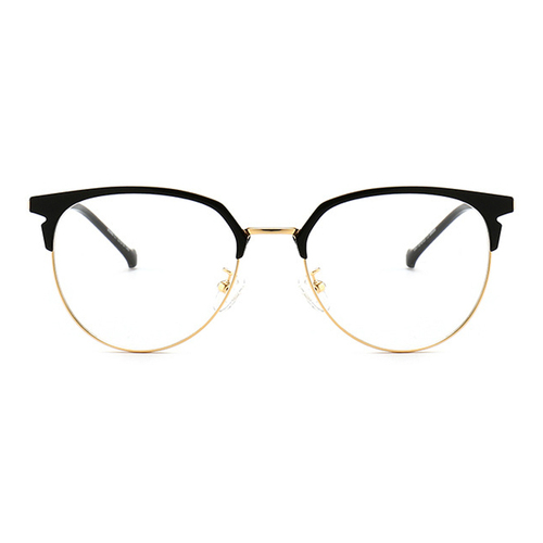 20024 classical metal oval optical frames