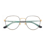 20013 classical metal polygon optical frames